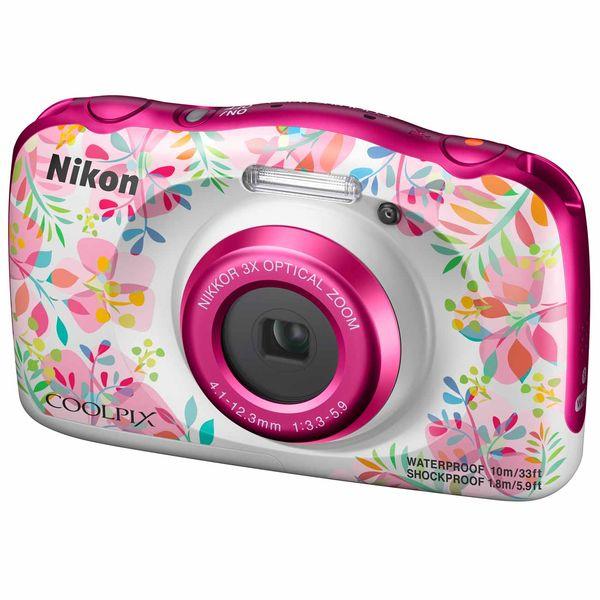 Фотоаппарат компактный Nikon COOLPIX W150 FLOWER BACKPACK KIT