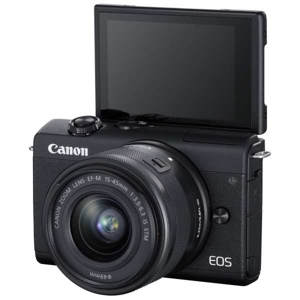 Фотоаппарат системный Canon EOS M200 BK M15-45