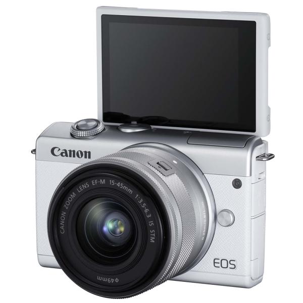 Фотоаппарат системный Canon — EOS M200 WH M15-45