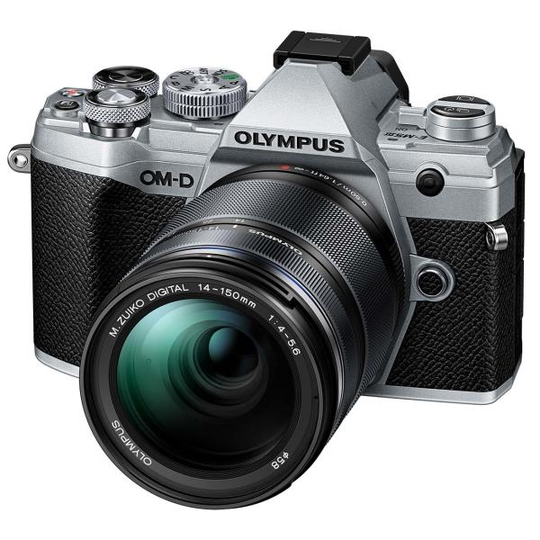Фотоаппарат системный Olympus E-M5 Mark III Silver ED 14-150 f/4.0-5.6 II Black