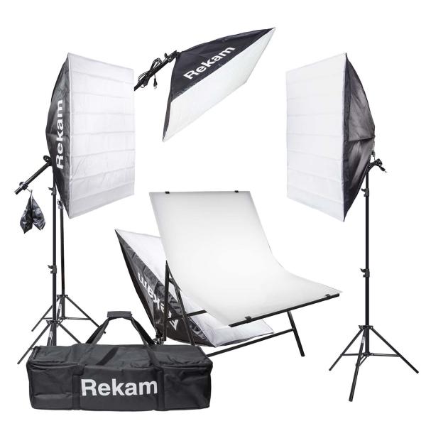 LED осветитель Rekam CL-700-SB Boom Macro Kit