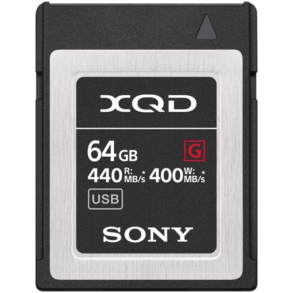 Карта памяти XQD Sony 64GB 440R/400W (QD-G64F/J)