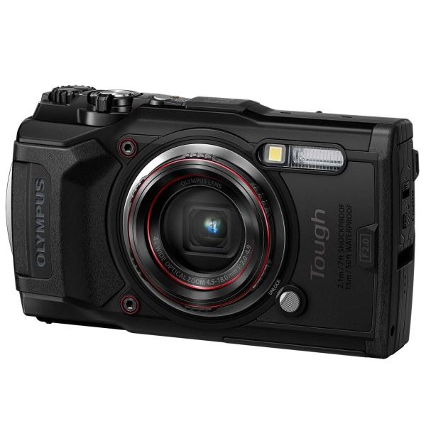 Фотоаппарат компактный Olympus Tough TG-6 Black