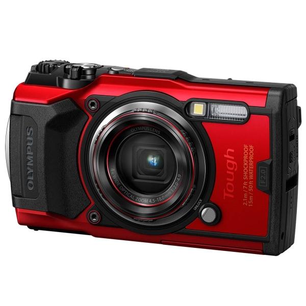 Фотоаппарат компактный Olympus — Tough TG-6 Red
