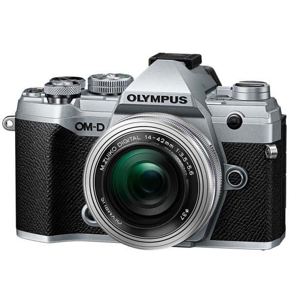 Фотоаппарат системный Olympus — E-M5 Mark III (SLV) 14-42mm EZ (SLV)