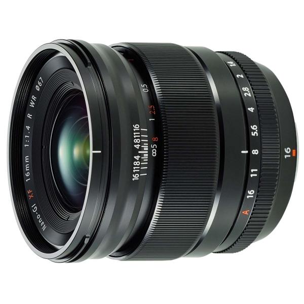 Объектив премиум Fujifilm XF16mm f/1.4 R WR