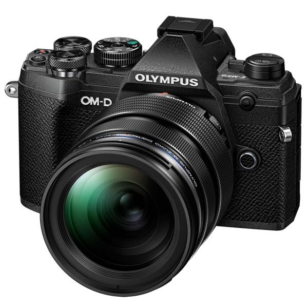 Фотоаппарат системный Olympus — E-M5 Mark III (BLK) 12-40mm PRO (BLK)