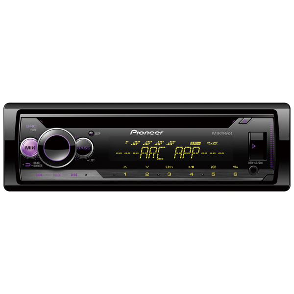 Автомобильная магнитола с CD MP3 Pioneer DEH-S220UI