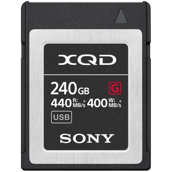 Карта памяти XQD Sony 240GB 440R/400W (QD-G240F/J) черного цвета