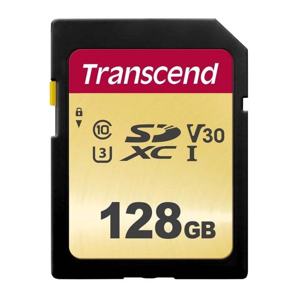Карта памяти Transcend 128GB (TS128GSDC500S)