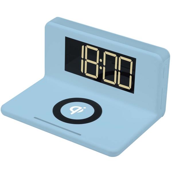Радио-часы MAX М-010 Blue белого цвета