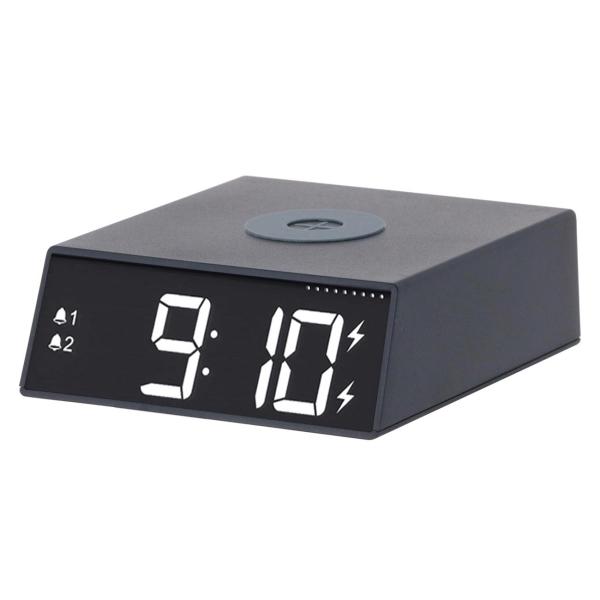 Часы-будильник Ritmix RRC-910Qi Black