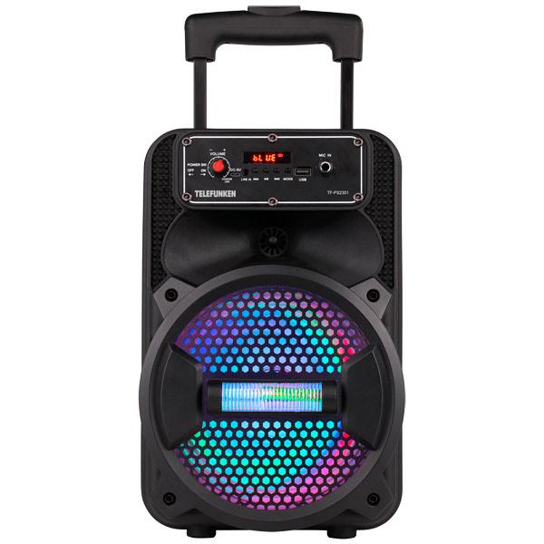 Музыкальный центр Mini Telefunken TF-PS2301 оранжевого цвета