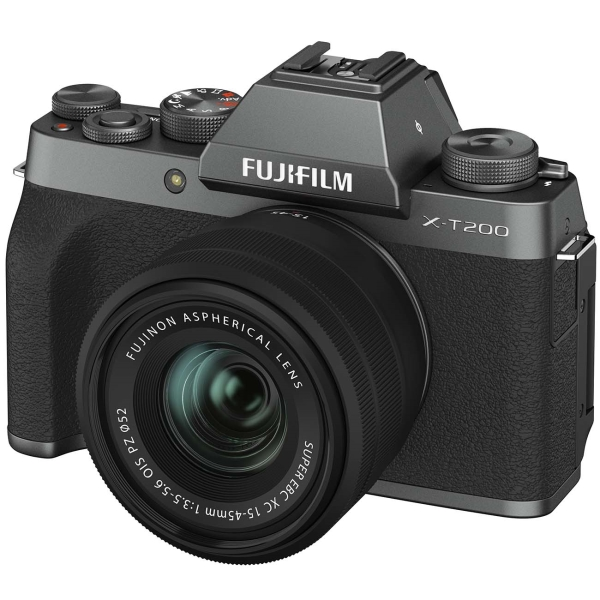 Фотоаппарат системный Fujifilm X-T200 15-45 Dark Silver