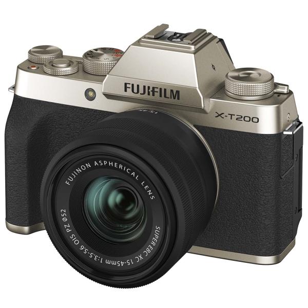 Фотоаппарат системный Fujifilm X-T200 15-45 Gold