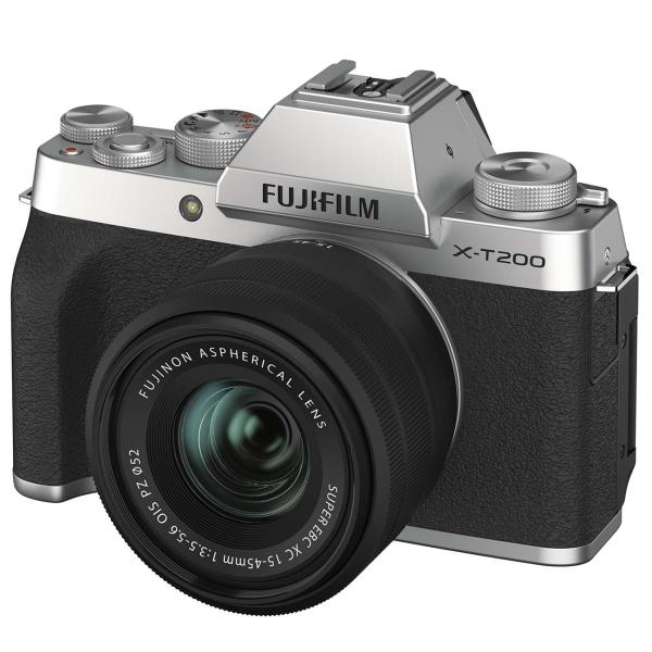 Фотоаппарат системный Fujifilm X-T200 15-45 Silver