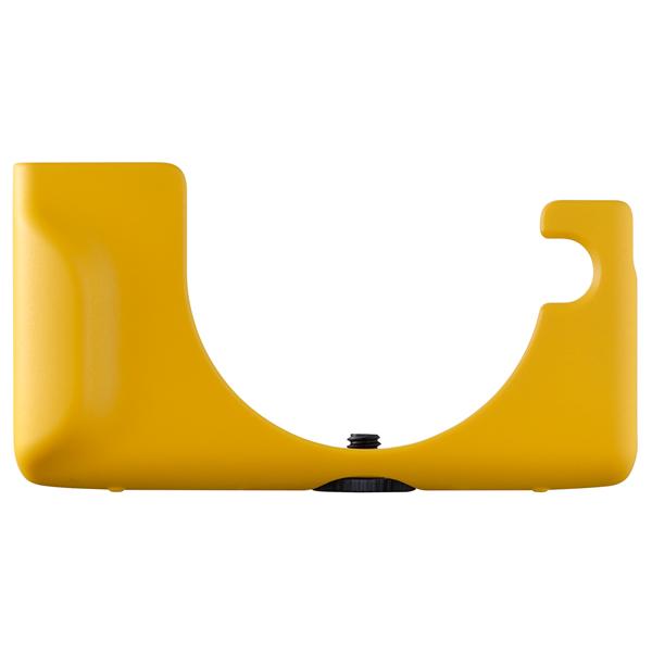 Сумка для компактных фотокамер Canon M100 PU LEATHER FACE JACKET YELLOW (CC-FJ001) желтого цвета