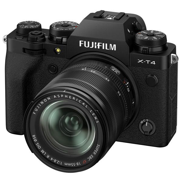 Фотоаппарат системный Fujifilm X-T4 Kit 18-55mm Black