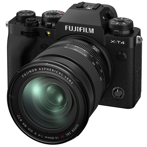 Фотоаппарат системный Fujifilm X-T4 Kit 16-80mm Black