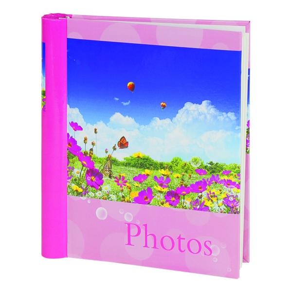 Альбом для фотографий Brauberg 390686 20 магнитных листов, 23*28см, Дивный луг
