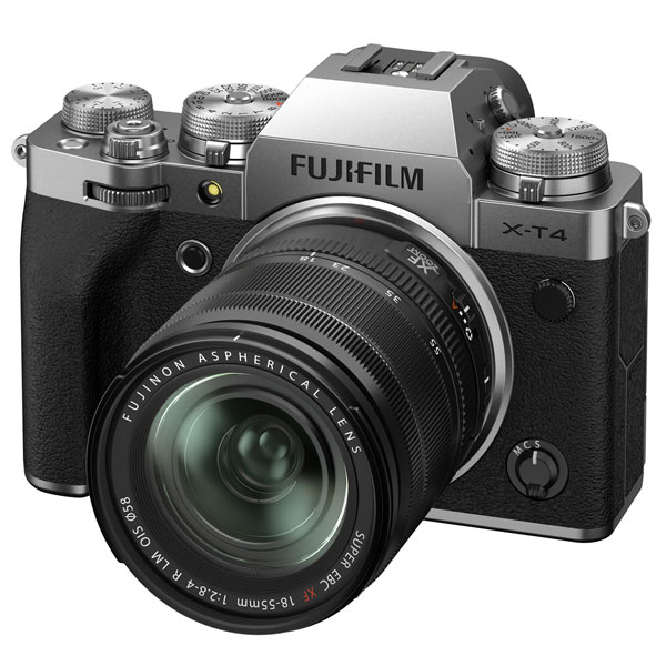 Фотоаппарат системный Fujifilm X-T4 Kit 18-55mm Silver