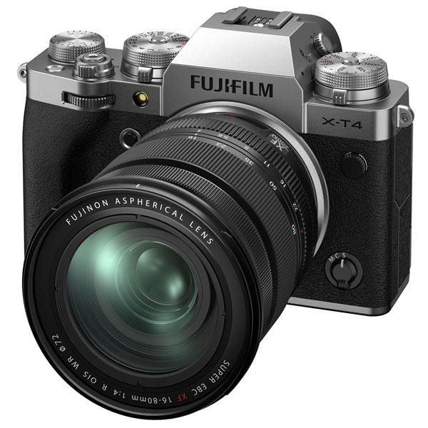 Фотоаппарат системный Fujifilm X-T4 Kit 16-80mm Silver