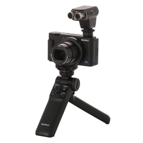 Камера для ведения видеоблога Sony ZV-1 + аксессуары + микрофон