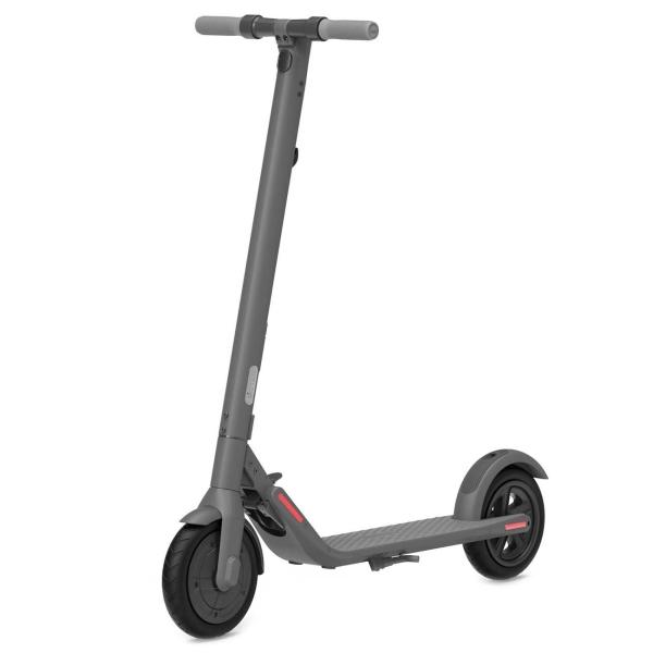 Электрический самокат Ninebot KickScooter E22 серого цвета