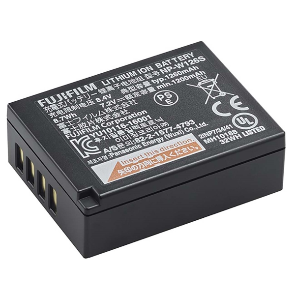 Аккумулятор для цифрового фотоаппарата Fujifilm NP-W126S