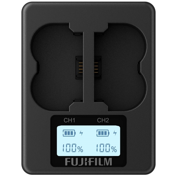 Зарядное устройство для циф.фотоаппарата Fujifilm BC-W235 черного цвета
