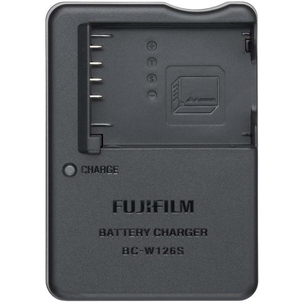 Зарядное устройство для циф.фотоаппарата Fujifilm BC-W126S черного цвета