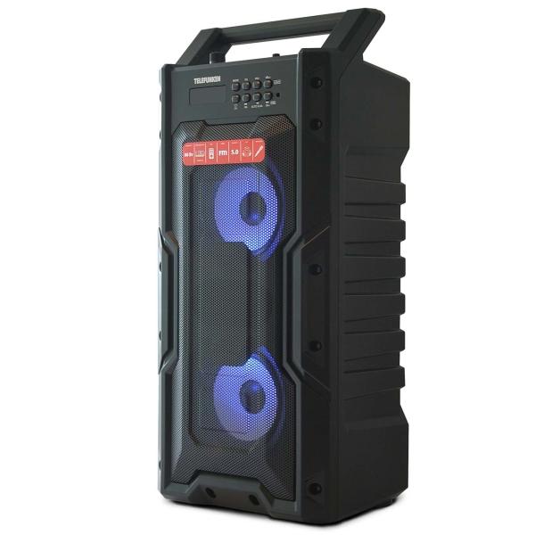 Музыкальный центр Mini Telefunken TF-PS1278B красного цвета