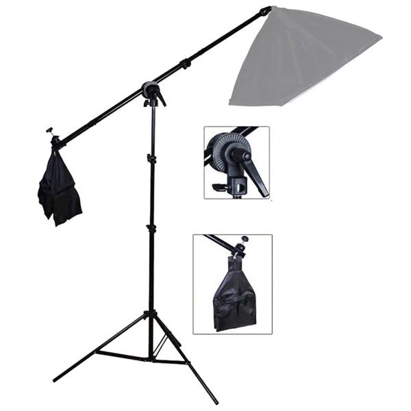 Комплект: стойка со штангой Rekam BS3-244-3 Kit черного цвета