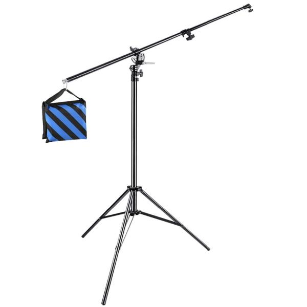 Комплект: стойка со штангой Rekam BS4-400-6 Kit черного цвета