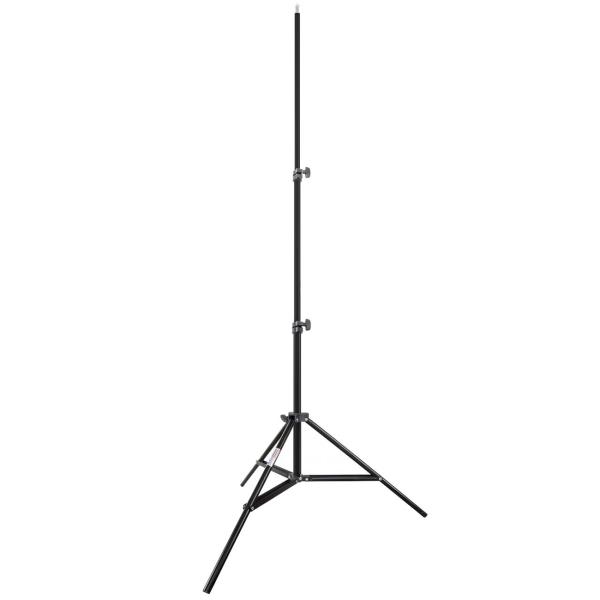 Стойка студийная 3-х секционная Rekam LS3-200-2 черного цвета