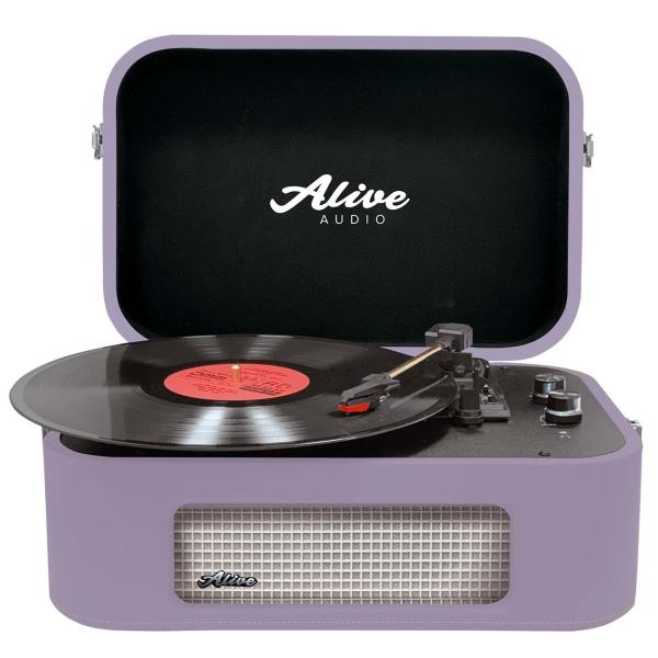 Проигрыватель виниловых дисков Alive Audio STORIES Lilac Bluetooth (STR-06-LL)