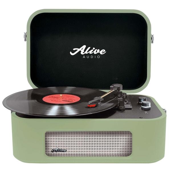 Проигрыватель виниловых дисков Alive Audio STORIES Mojito Bluetooth (STR-06-MT)