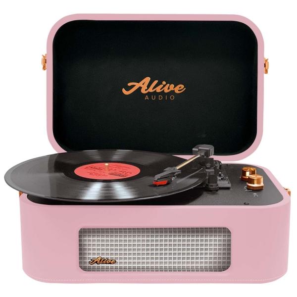 Проигрыватель виниловых дисков Alive Audio STORIES Rose Wine Bluetooth (STR-06-RW)