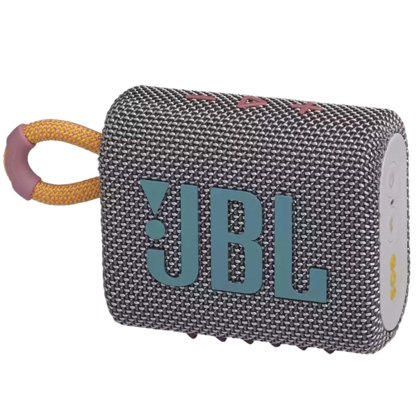 Купить Беспроводная акустика JBL Go 3 Grey (JBLGO3GRY) в каталоге интернет магазина М.Видео по выгодной цене с доставкой, отзывы, фотографии - Санкт-Петербург