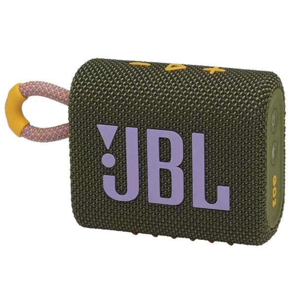 Беспроводная акустика JBL Go 3 Green (JBLGO3GRN)