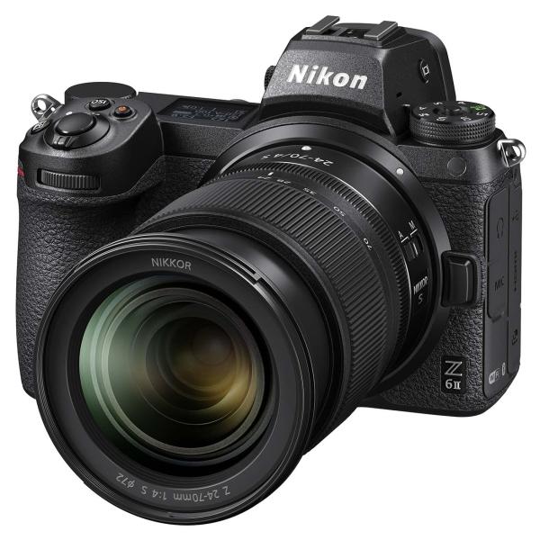 Фотоаппарат системный Nikon Z 6II Black Kit 24-70mm f/4 S