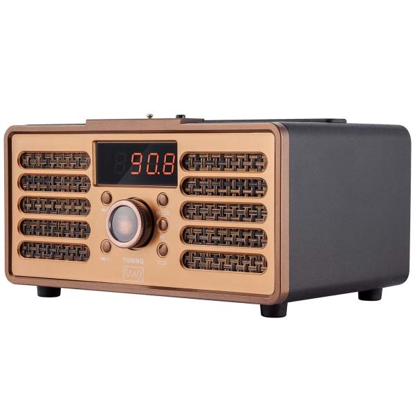 Радиоприемник MAX MR-362 оранжевого цвета