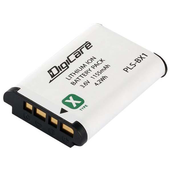 Аккумулятор для цифрового фотоаппарата DigiCare PLS-BX1 белого цвета
