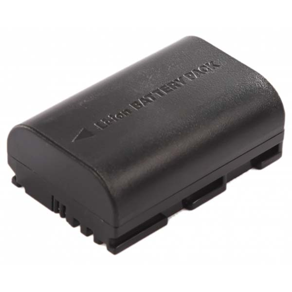 Аккумулятор для цифрового фотоаппарата DigiCare PLC-E6 черного цвета