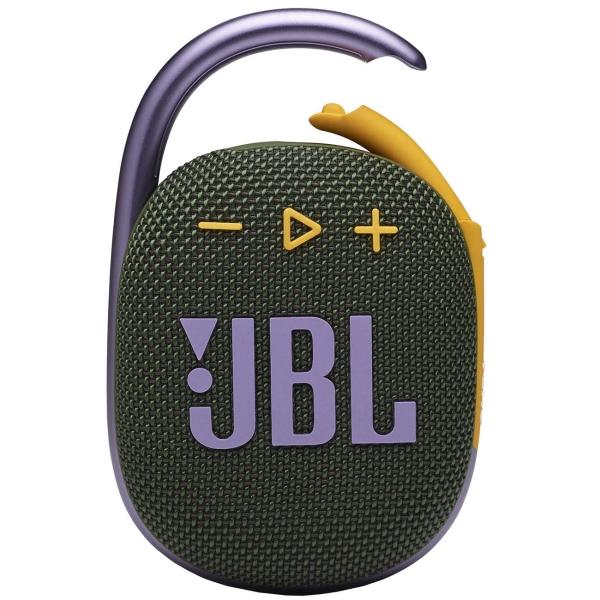 Беспроводная акустика JBL Clip 4 Green