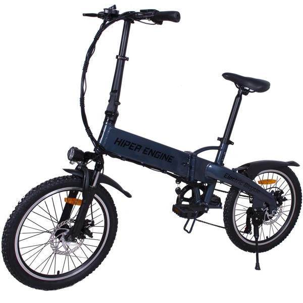 Электрический велосипед HIPER Engine HE-BF204 Blue Metallic