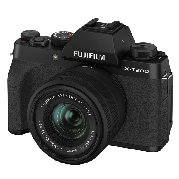 Фотоаппарат системный Fujifilm X-T200 Kit 15-45mm Black