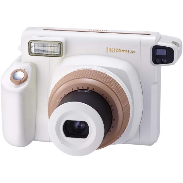 Fujifilm INSTAX WIDE 300 CAMERA TOFFEE EX D белого цвета