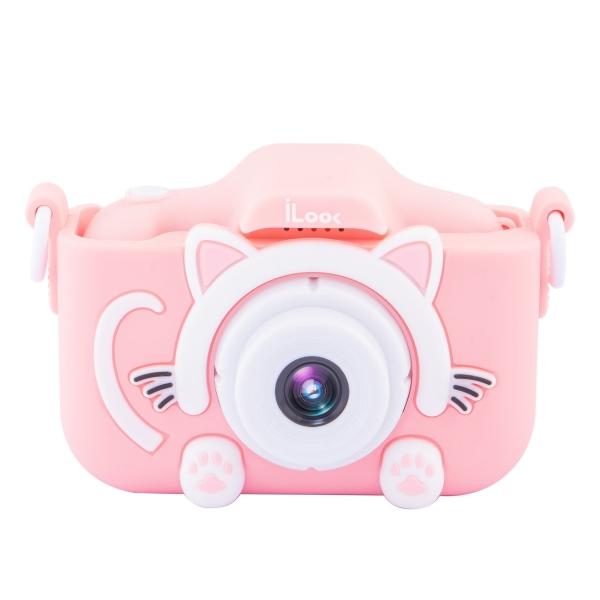 Фотоаппарат компактный Rekam iLook K390i Pink