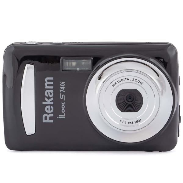 Фотоаппарат компактный Rekam iLook S740i Black